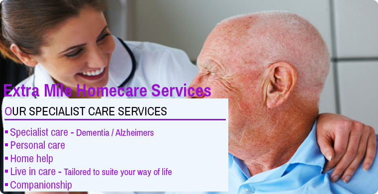 Extra Mile Homecare services